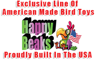 American Made Toys For Birds